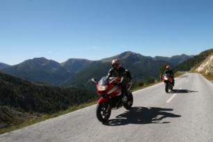 Motorcycling in Carinthia