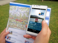 Drau cycle path app